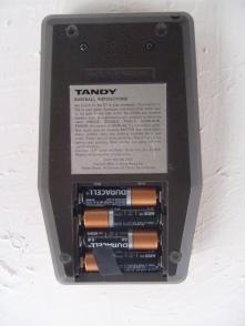 Vintage Handheld Tandy Electronic Baseball - Two Players Model # 60-2157
